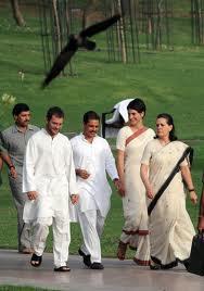 Rahul, Robert, Priyanka & Sonia Gandhi