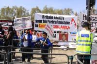 Pro-LTTE Tamil protest in London