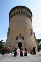 IOR (Vatican Bank) inside Vatican City