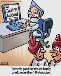 Manmohan Singh on Twitter
