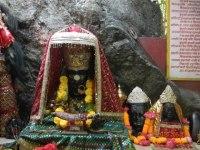 Dhari Devi Kali with sisters Lakshmi and Saraswati