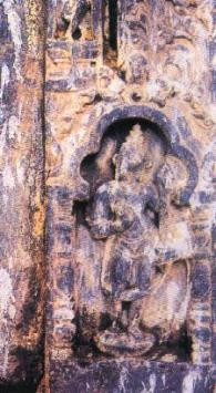 Dwarapala panel from Babri Masjid site in Ayodhya