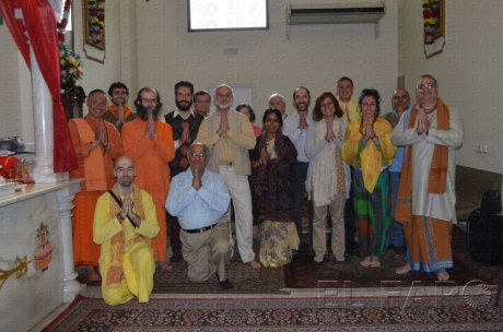 Spanish Hindus in Madrid