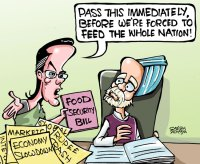 Sonia-G's Food Security Bill