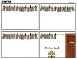 Vatican Bank has been laundering money for centuries.