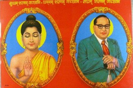 Lord Buddha & Dr. Ambedkar