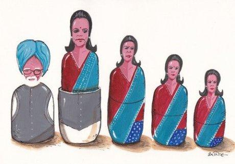 Manmohan Singh & Sonia-G