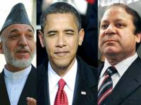 Obama and his delinquent friends Karzai and Sharif.