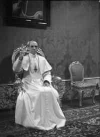 Pope Pius XII set up the Vatican Bank in 1942