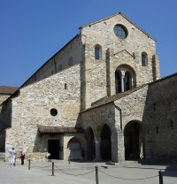 Aquileia Basilica: Belief in reincarnation was outlawed by the Council of Aquileia in 553 CE.