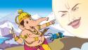 Lord Ganesha curses Chandra Deva!