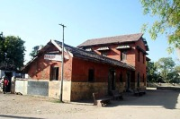 Bhagavatacharya Narayanacharya High School, the co-ed Gujarati-medium school that Modi attended in Vadnagar.