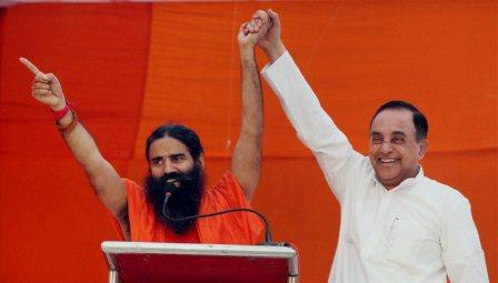 Baba Ramdev & Dr Subramanian Swamy
