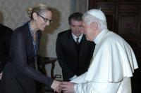 Nicole Winfield & Benedict XVI