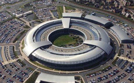 British Government Communications  Headquarters at  Cheltenham,  Gloucestershire.