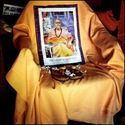 Swami Lakshmanananda's Paduka's