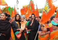 Tirupati Muslims demonstrate against the Muslim university being built on temple land.
