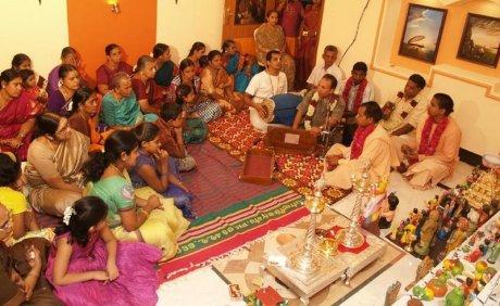 Navaratri bhajan in Coimbatore