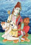 Shiva & Parvati as Ardhanarishwara