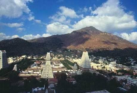 Arunachala Hill & Arunachaleshwar Temple, Tiruvannamalai, TamilNadu