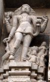 Bhikshatana Shiva at Tiruvannamalai