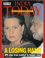 India Today: Congress Hand Down!