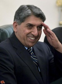 ISI Chief Ahmed Shuja Pasha