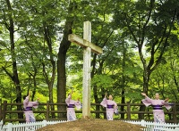 Grave of Jesus in Shingo, Japan