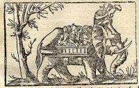 Porus's elephant cavalry.
