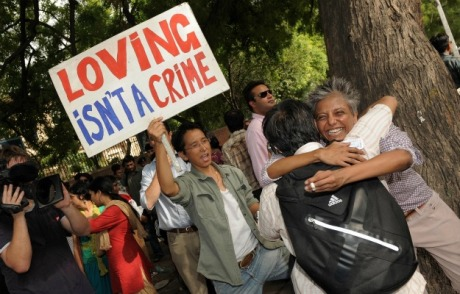 Loving IS a crime according to the Indian Supreme Court!
