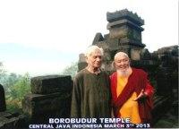 Prof Lokesh Chandra & Lama Gangchen Rinpoche