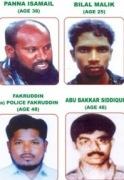 Panna Ismail, Bilal Malil, Fakruddin, Abu Bakkar Siddiqui