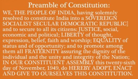 Preamble to the Indian Constitution