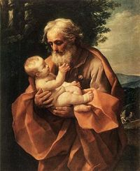 Joseph with his stepson Jesus (Guido Reni)