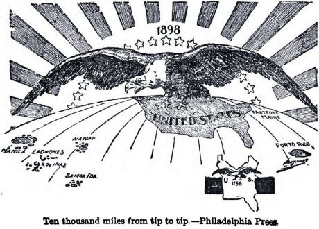 US imperialism on the march since the 19th century