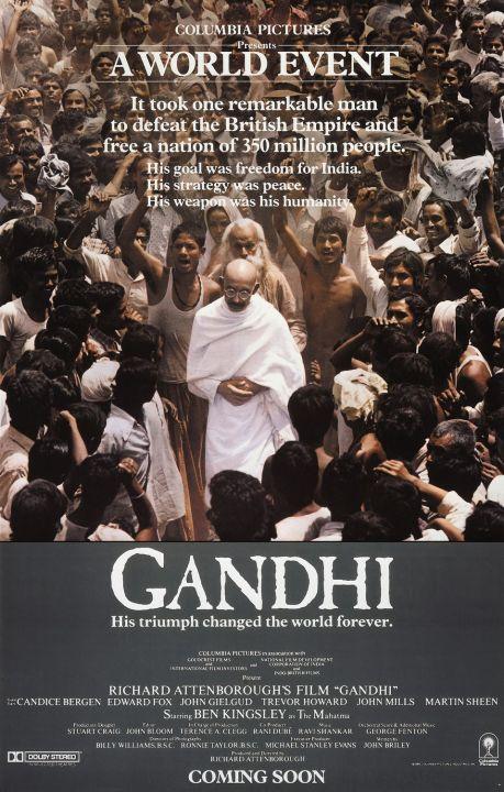 Gandhi Film Poster