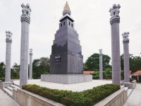 War memorial for the Indian Peace Keeping Force (IPKF) on the outskirts of Colombo.