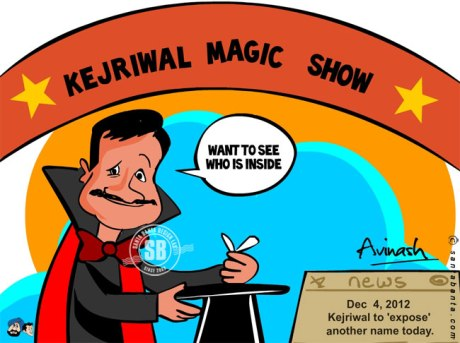 Arvind Kejriwal's Magic Show