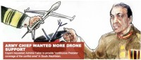 Pakistan army requests drone attacks!