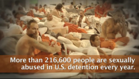 Over 2 lakh men and women raped in US prisons each year!