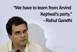 Rahul wishes to be Arvind's doppelganger!