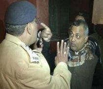 Malviya Nagar SHO Vijay Pal & AAP Rowdy Somnath Bharti