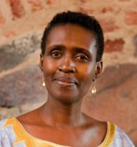 Chief of Oxfam Winnie Byanyima