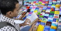 Roadside book shop, Triplicane, Chennai