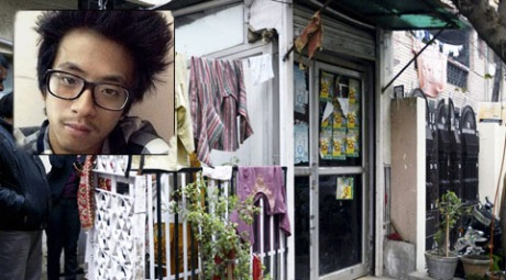 Arunachal Pradesh student Nido Taniam and the Lajpat Nagar shop where he was beaten up.