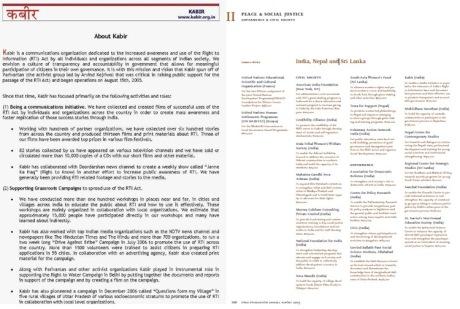 Ford Foundation funds Kejriwal's Kabir NGO