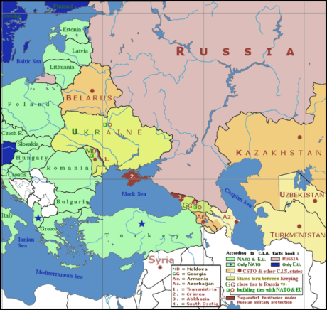 Geopolitics of South Russia