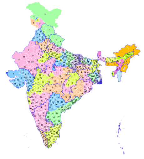 Dates Indian States Vote