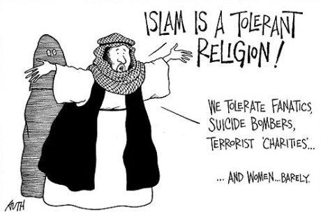 Islam a tolerant religion!