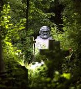 Karl Marx's Grave Highgate London